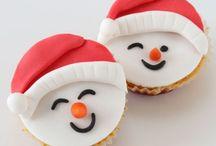 (Kerstmis)cupcakes