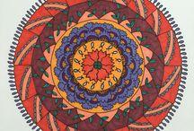 My Mandalas / Self created mandalas