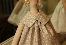 Текстильные куклы / Тильда и другие интерьерные куклы