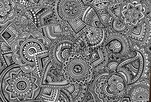 zentangle art y mandalas