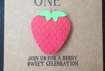 2nd Birthday Party - Strawberry