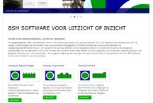 BSM Software / Software om uw vastgoed in topvorm te houden. Build with Bootstrap, Camera Slider, Incl. contact form and Blog Page with back-end login.