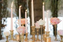 Gold wedding ideas / Luxurious and romantic gold wedding ideas. Gold wedding ideas.