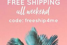 "Salt + Pepper Instagram Get any order shipped free this weekend only!! Enter code ""freeship4me"" at checkout! ✌ #saltandpeppersupply #happyweekend #saturday #shoplocal #california"