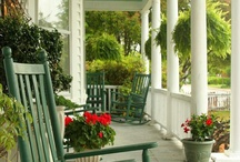 Home - front porch ideas / by Terri-Ann Houghton