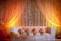 Indian banquet decor