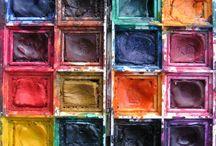 Watercolor paint / watercolor