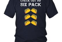 Check Out My Six Pack Tacos Shirt