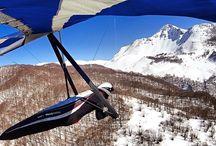 IL VOLO E LA SUA LIBERTA' / Volo libero in parapendio e deltaplano. Le meraviglie del mondo  viste dall'alto.