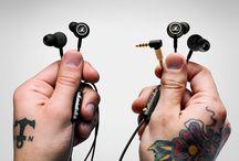 Marshall Mode Headphones / Marshall Mode (White) & Mode EQ (Gold) - Ear Bud Stereo Headphones