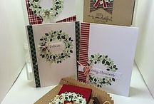 Card / Box - Willkommen Weihnacht 2014
