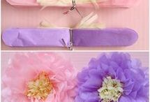 DIY - Tissue and Paper Flowers