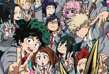•Boku No Hero Academia / My Hero Academia / 僕のヒーローアカデミア• / ❝This anime is HAVE: cool protagonist; appealing basic story; funny side-characters; serious opponents; and that's not the all reasons why I love and recommend it to you! The story is same like One Punch Man BUT NOT  IS IT! The story cool. The protagonist is ALSO cool. The characters have really cool and interesting stories. I just wanna hug you and say that: Watch it. This made you cry, laugh, and strong.❞
