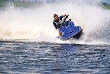 Salmon Creek Water Sports / Salmon Creek Water Sports at Scotch Hall Marina in North Carolina's Inner Banks offers public jet ski, pontoon boat, kayak and paddle board rentals. Come play on the beautiful Albemarle Sound and Salmon Creek, where you'll find nature at it's best.