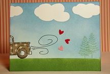 Loads of love stamp set / by Linda Lafreniere
