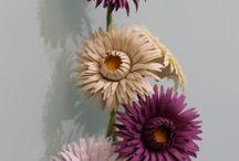 kozadan çiçek yapımı
