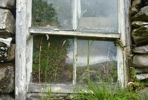 Stone walls, cottages, old doors/windows and other such beautiful things