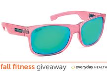 Fall Fitness Giveaway / Enter to win fall fitness essentials from Misfit, DISQ, Hobie Polarized, American Pistachios, and The Squeeze.