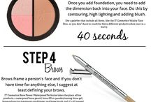 Quick makeup routines