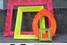 Party Design Ideas - Neon Jazz Colours & Forms