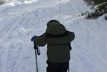 Winter Trails / Just because it's cold outside and the snow is falling doesn't mean that you can't still explore your favorite trails. It's just time to do it with snowshoes, nordic skis and muckalucks. (Whatever muckalucks are?)