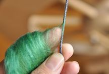 Crafts - Fiber Arts - Felt, Spin, and Weave / by Kristin
