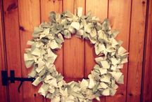 Christmas wreath / Homemade Christmas wreath