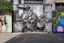 Streetart/Murals