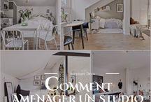 - Petits Espaces - / Comment aménager vos petits espaces  #studio #decoration