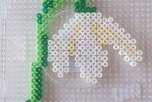 Hama 1er mai perler beads
