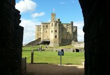 Warkworth / Beautiful castle and surrounding area in #Northumberland