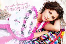 Huicholita / Photos of our SS15 Collection: Huicholita. With Alba Galocha!