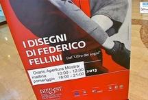 Ciak, si sogna: i disegni di Fellini in mostra a Novoli