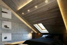 hálószoba tetőtér