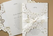 Wedding Invitations, Die Cut