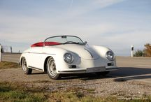 Porsche 356 Speedster electric engine / A German company started produce Porsche 356 Speedster form '1948 with electric engine