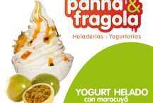YOGURT HELADO / Yogurt helado