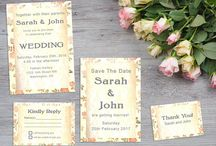 Wedding Printables / Custom made printable invitations, wedding suites