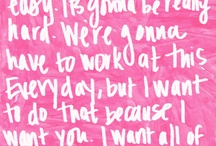 Quotes / by Amber Whitman