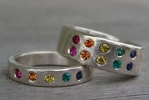 Rainbow wedding stuff