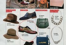 M & H ON PRESS / A collection of Melvin & Hamilton shoes featured on TV and in magazines from all over Europe...