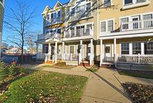 SOLD - 44 Lakeview Place - Lake Zurich, IL. 60047 / $259,000 - Stunning in-town 3-story end unit townhouse with private entrance & top of the line finishes. Stylish beauty has a lovely front porch, tile flooring in foyer, 1st floor office with French doors & full bathroom. 2nd floor features Brazilian hardwood floors in family, kitchen & eating area along with a warm fireplace for relaxation. Rare offering & a fantastic value. Don't miss this fabulous opportunity!