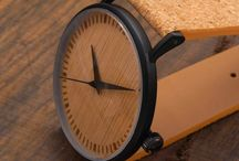 Metal case + Wood / Watches that are made from wood, metal and cork