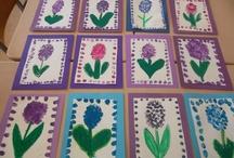 Hyacinten stempelen
