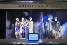 Retail Windows - Myer Melbourne Winter 2015 / Visual merchandising; production of 3D props; retail windows.
