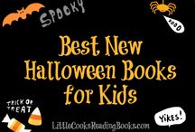 Halloween Books / Halloween books for children including halloween books for toddlers, preschool halloween books, halloween books for kindergarten & MORE. #Halloween #books #children #reading #holidays