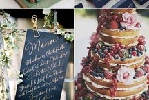 Wedding Day Color Schemes / Wedding Day Mood Boards for inspiration