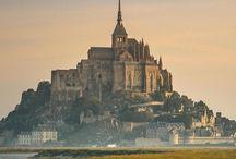 Mont Saint Michel - Normandië