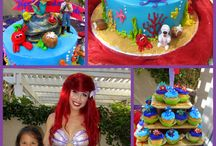 Aerial mermaid birthday