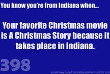 Hooooosier / She grew up in an Indiana town.....